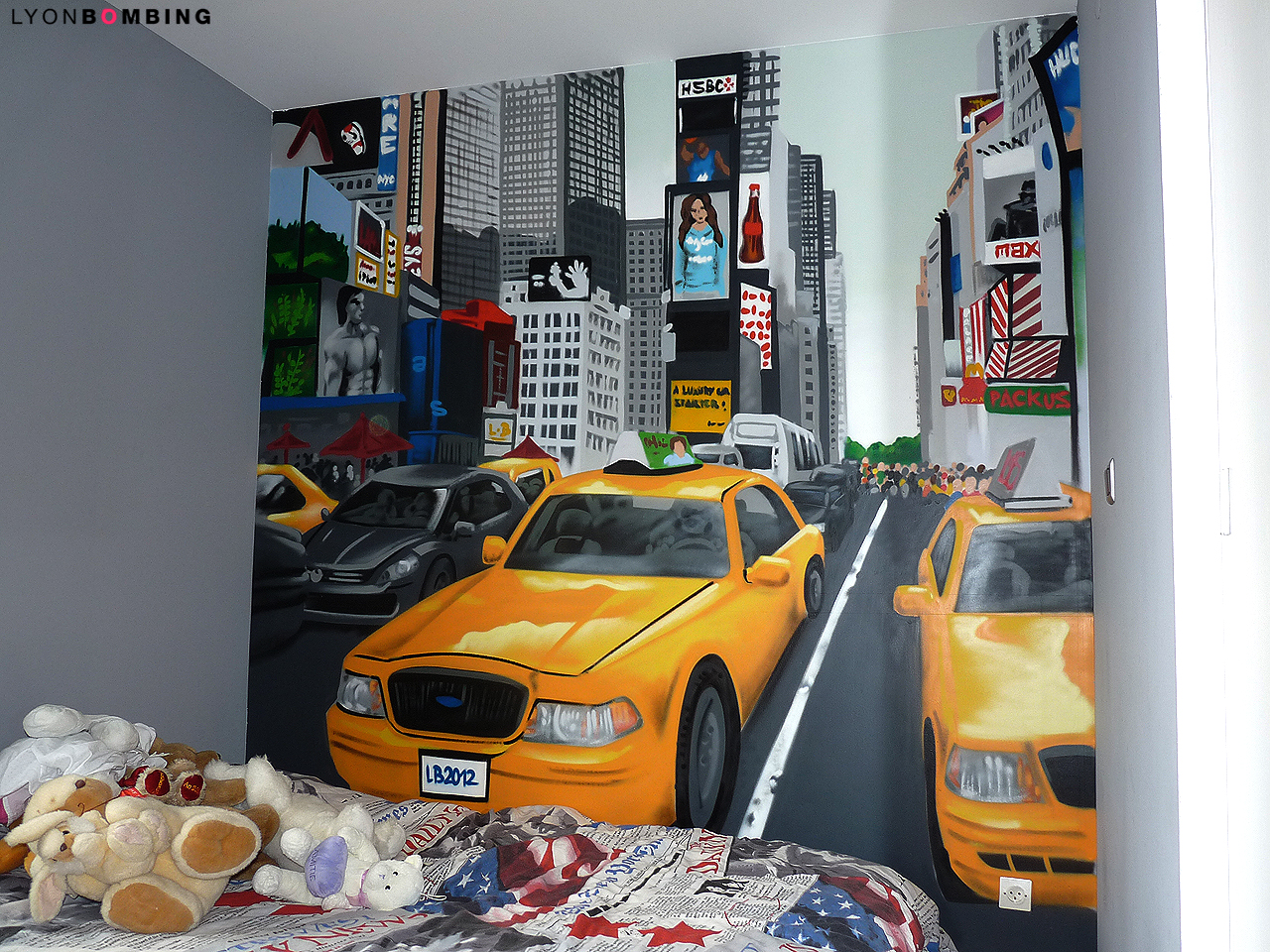 Exceptionnel Chambre Times Square - Chambre - LYONBOMBING LC82