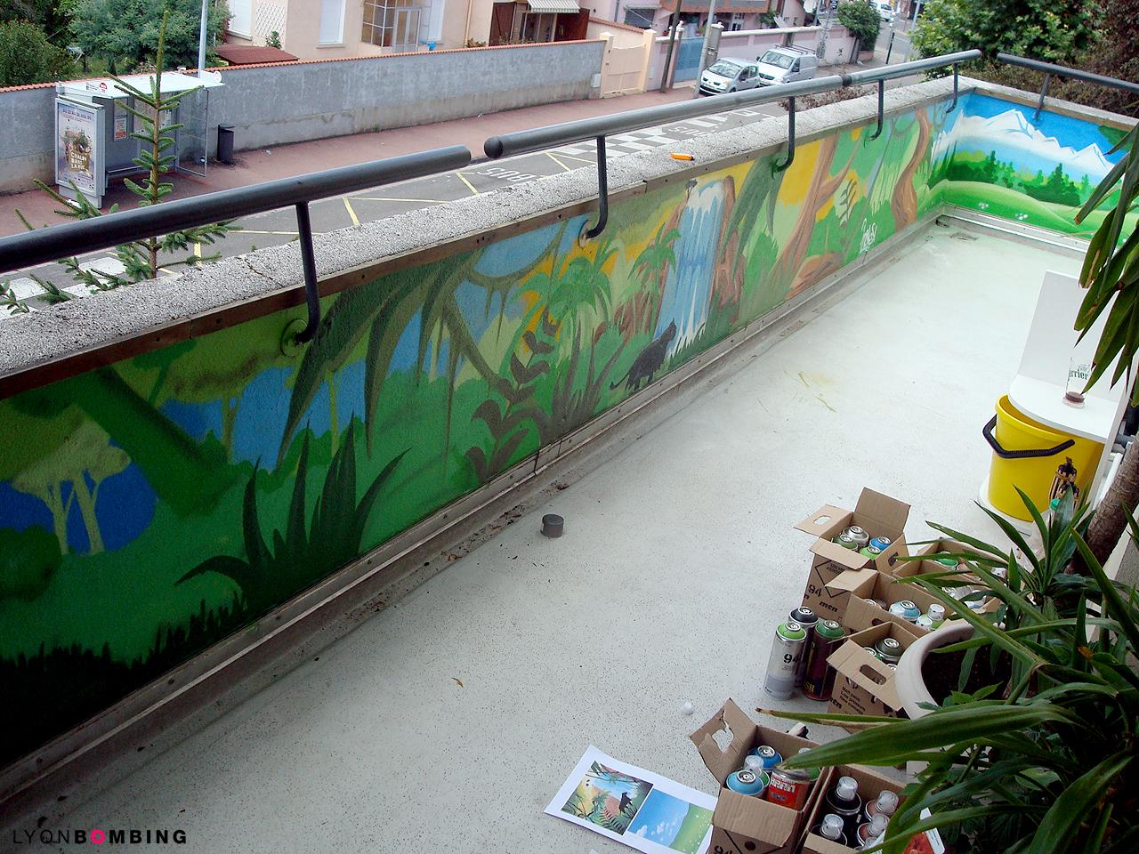 Balcon Jungle Ext Rieur Lyonbombing