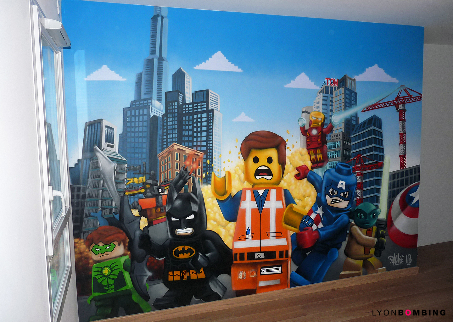 Chambre lego chambre lyonbombing for Decoration de chambre star wars