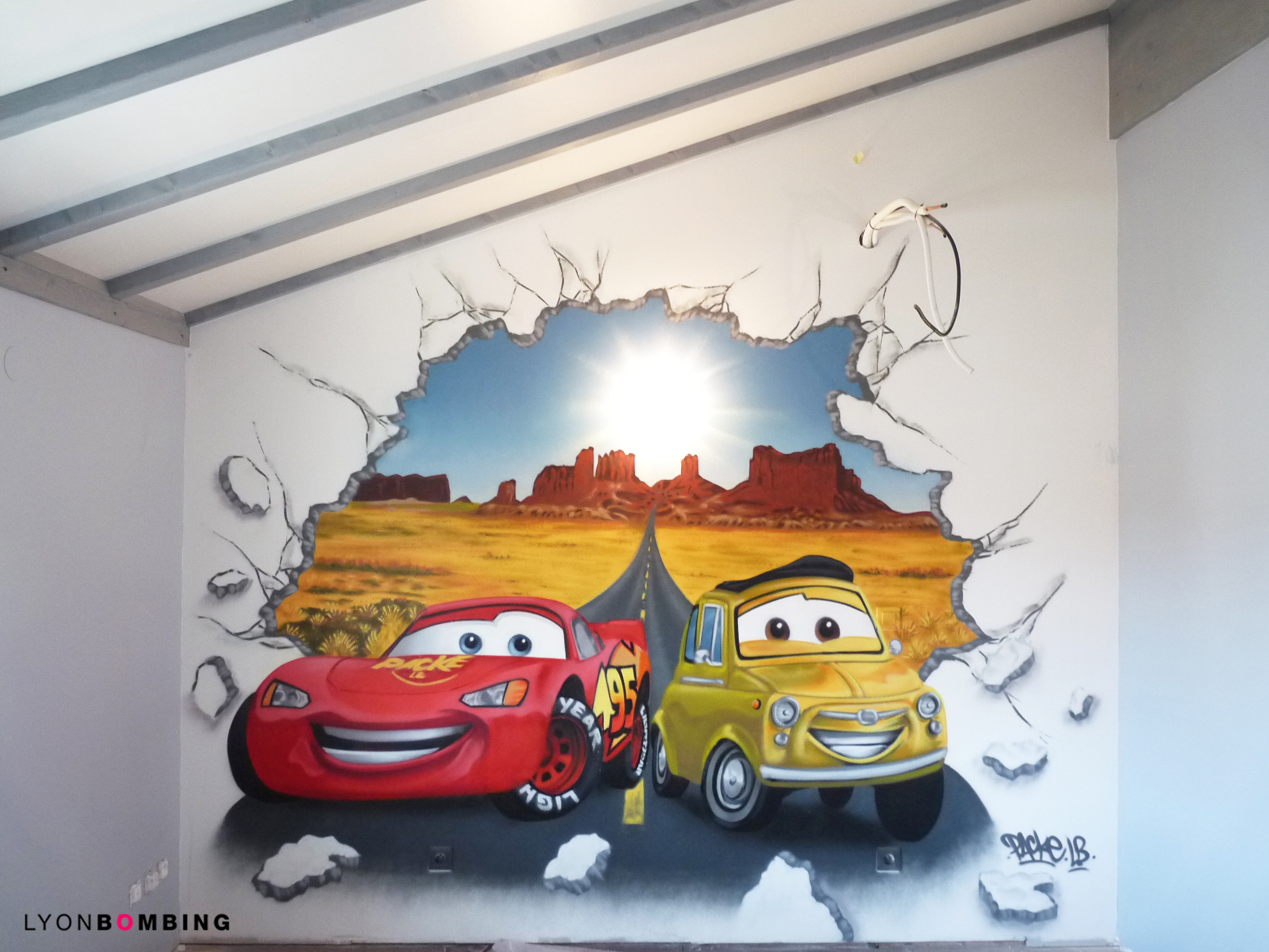 Chambre cars chambre lyonbombing for Decoration chambre cars