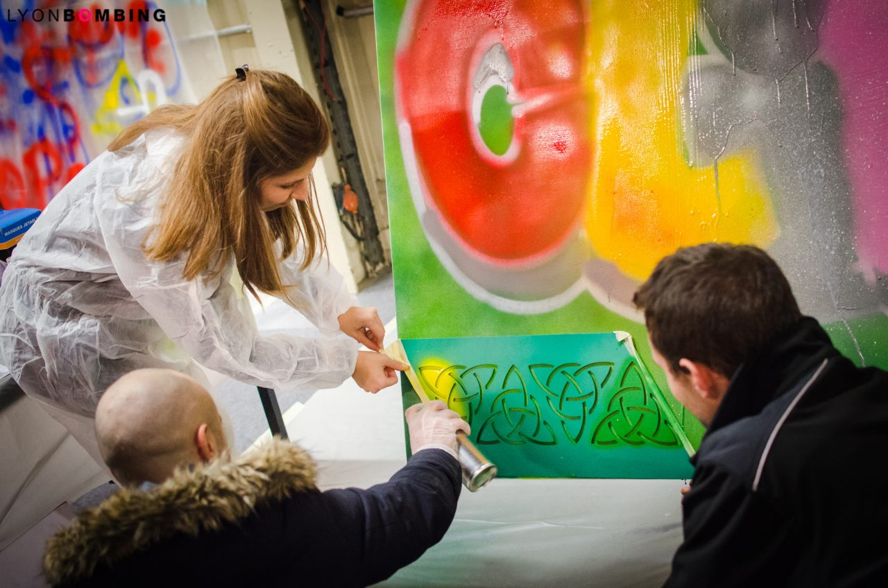 animation-graffiti-team-building-bouygues