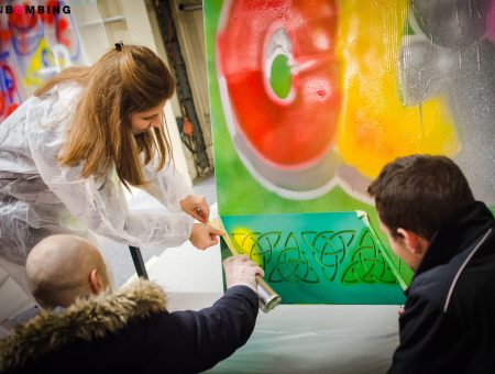 animation-graffiti-team-building-bouygues
