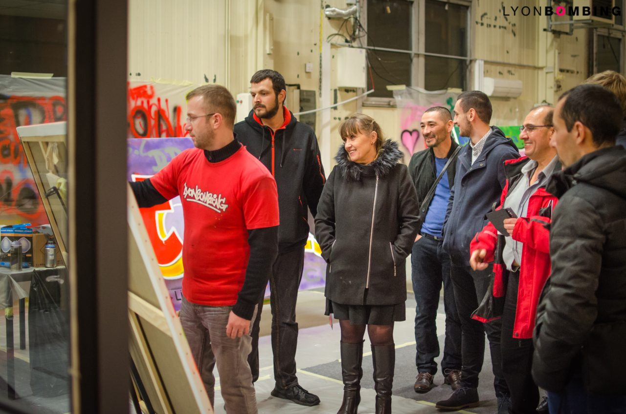 animation-graffiti-team-building-bouygues-tag